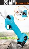 Электрический беспроводной секатор филиал резак 16,8 в/2ач литий ионный аккумулятор Перезаряжаемый садовый фруктовый Обрезка инструмент для