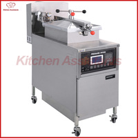 KA G600L Gas Computer Control Digital LCD Pressure Fryer With Oil Pump