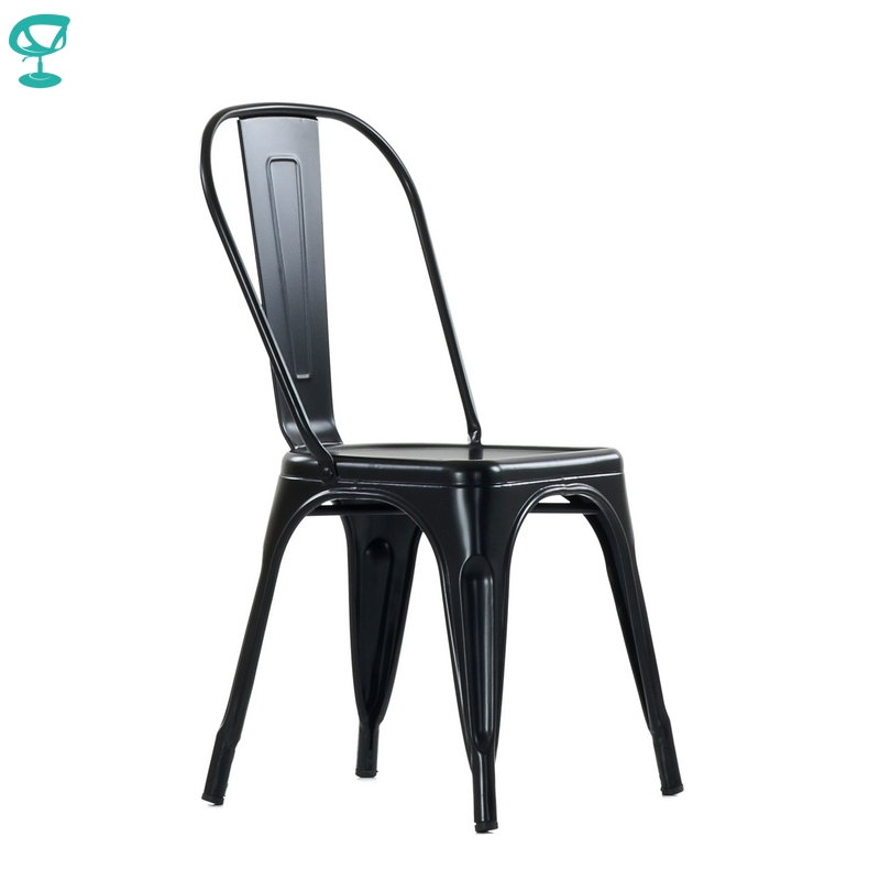 N240Black Barneo N-240 Black Metal Kitchen Interior Stool Chair For Cafe Chair Kitchen Furniture Free Shipping In Russia