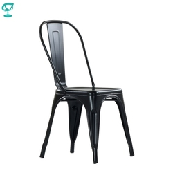 N240Black Barneo N-240 Schwarz Metall Küche Innen Hocker Stuhl für cafe Stuhl Küche Möbel freies verschiffen in Russland