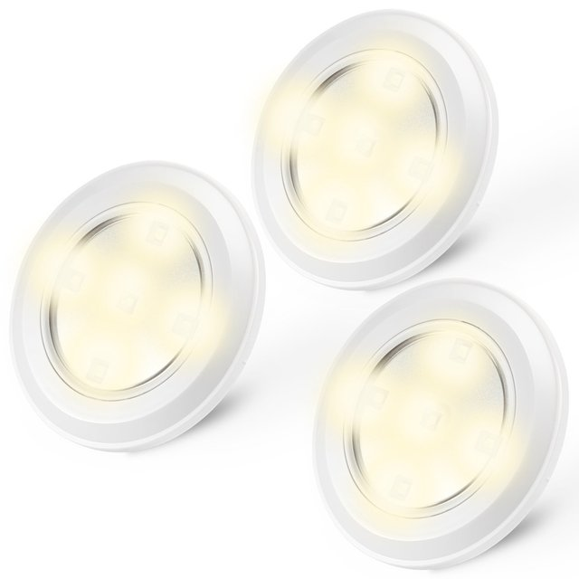 aliexpress koop 3 pak batterij aangedreven kast lichten touch