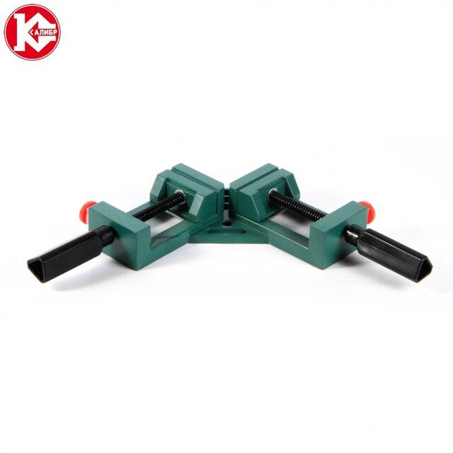 Kalibr 96403 65*65mm Угловой зажим 90 градусов для деревообработки