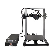 1Set Colorful 3D printer kit DIY 300*300*400mm printing size,end stop filament ,subarea heating  3Inch LCD touch screen