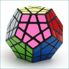 Professional Megaminx Puzzle Cube PVC Sticker Puzzle Magic Speed Cube Educational Toys Cubo Magico for Adults