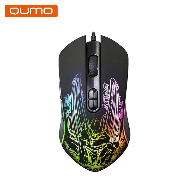 Купить со скидкой Мышь игровая Qumo Gothic M51