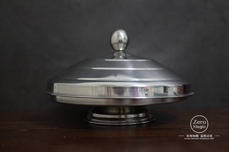 Dove Pan Of Collector - Silver Double Layer/Load,Magic Tricks,Stage,Illusions, Accessories,Gimmick,Appearing