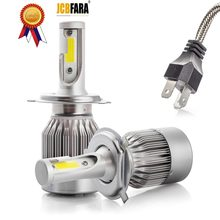 H4 LED Bulb H7 H1 H3 H8 H9 H11 H13 9005 HB3 9006 HB4 880 881 H27 9004 9007 Auto Headlamp 8000LM COB Car Light LED Lamp(China)