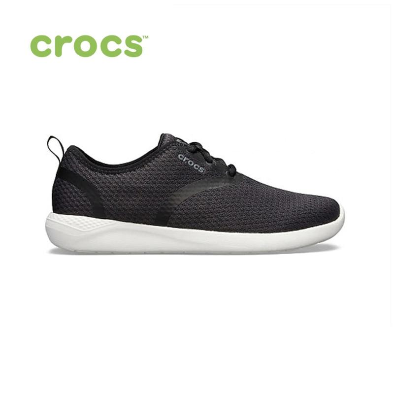 цены CROCS LiteRide Mesh Lace W WOMEN for female, women TmallFS shoes sneakers