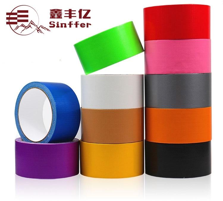 5cmx10M Single-sided Carpet Cloth Duct 5cmx10M Single-sided Carpet Cloth Duct Tape Multi-Purpose Durable Waterproof Easy Tear Ta