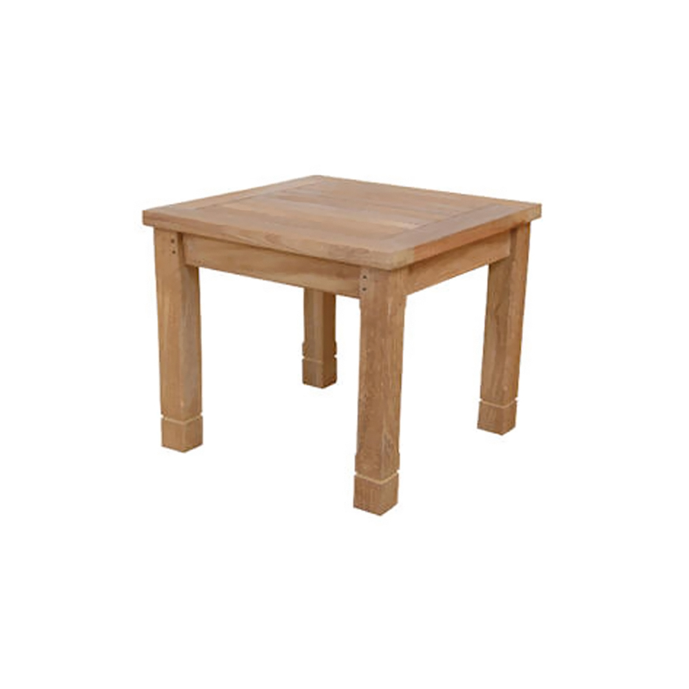 Andersonteak Outdoor Living Furniture SouthBay Square Side Table