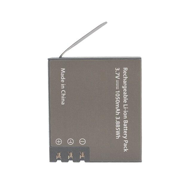 GTF 3.7V PG1050mAH Battery For EKEN Action Camera H9 H9 H3 H3R H8PRO H8R H8 pro SJ4000 SJCAM SJ5000 M10 SJ5000X Recharge battery 4