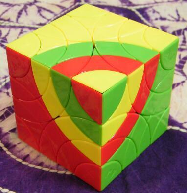 CubeIn & AJ Bombax Ceiba Cube StickerlessCubo Magico  Cube Educational Toy Gift Idea