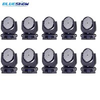 no tax custom 10pcs/lot, Stage moving head wash rgbw led light 108x3W stage ktv disco nightclub professional lighting