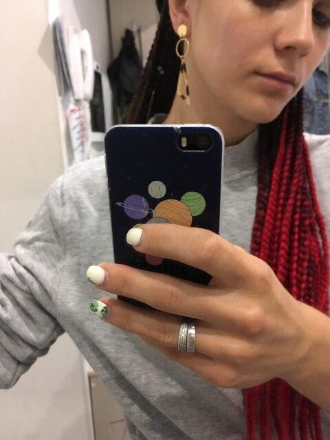 2018 Korea Fashionable Acetate Version Geometric Earrings Temperament Tortoiseshell Triangle Square Personality Earrings Jewelry