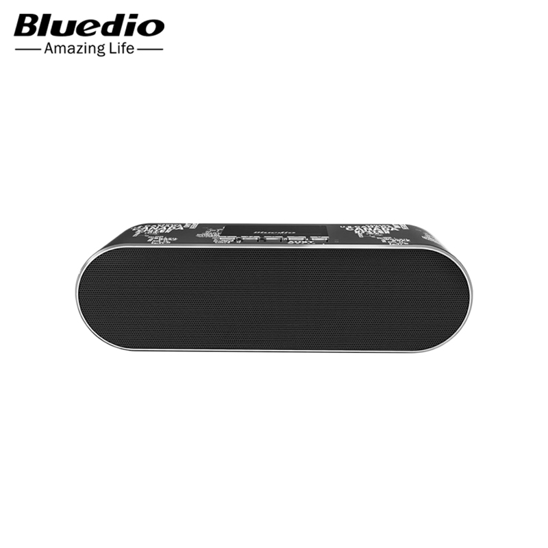 Speakers Bluedio AS-BT Black wireless bluetooth orignal bluedio t2 foldable over the ear bluetooth headphones bt 4 1 fm radio