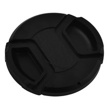 UXCELL Plastic Entrance Snap Digital Digital camera Clip-On Lens Cap Cowl Black 58Mm W Wire