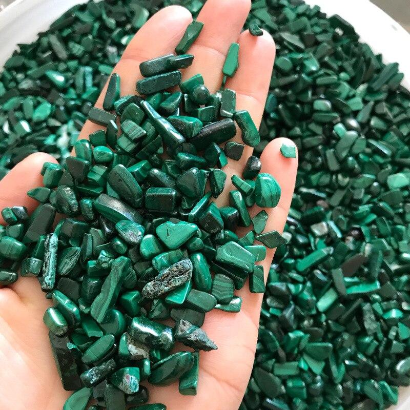 1Kg pierre de Malachite naturelle Chrysocolla gravier roche cristal Quartz brut pierre gemme minéral spécimen réservoir de poisson décoration de jardin