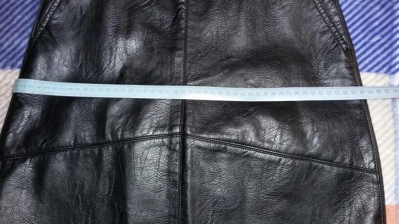 Bella Philosophy 2019 winter high waist Skrit PU faux leather women skirt pink yellow black green blue zipper mini skirt women