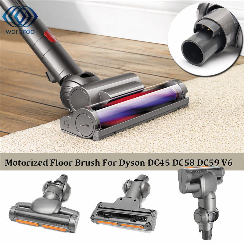New Motorized Floor Vacuum Turbo Cleaner Brush For Dyson DC35 DC44 DC45 DC58 V6 Trigger  DC61 DC62 Vacuum Cleaner Parts dyson dc65 multi floor upright ball vacuum with 8 attachments