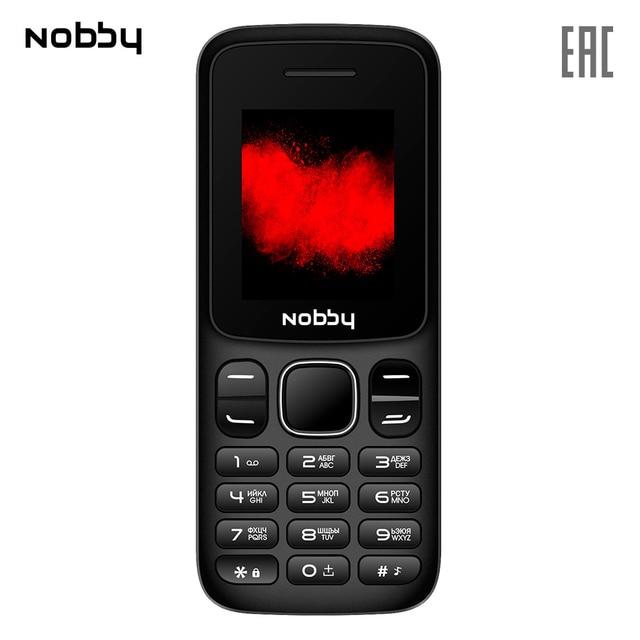 Мобильный телефон Nobby 101 , 2 симкарты, ThreadX, камера, фотокамера, цветной дисплей