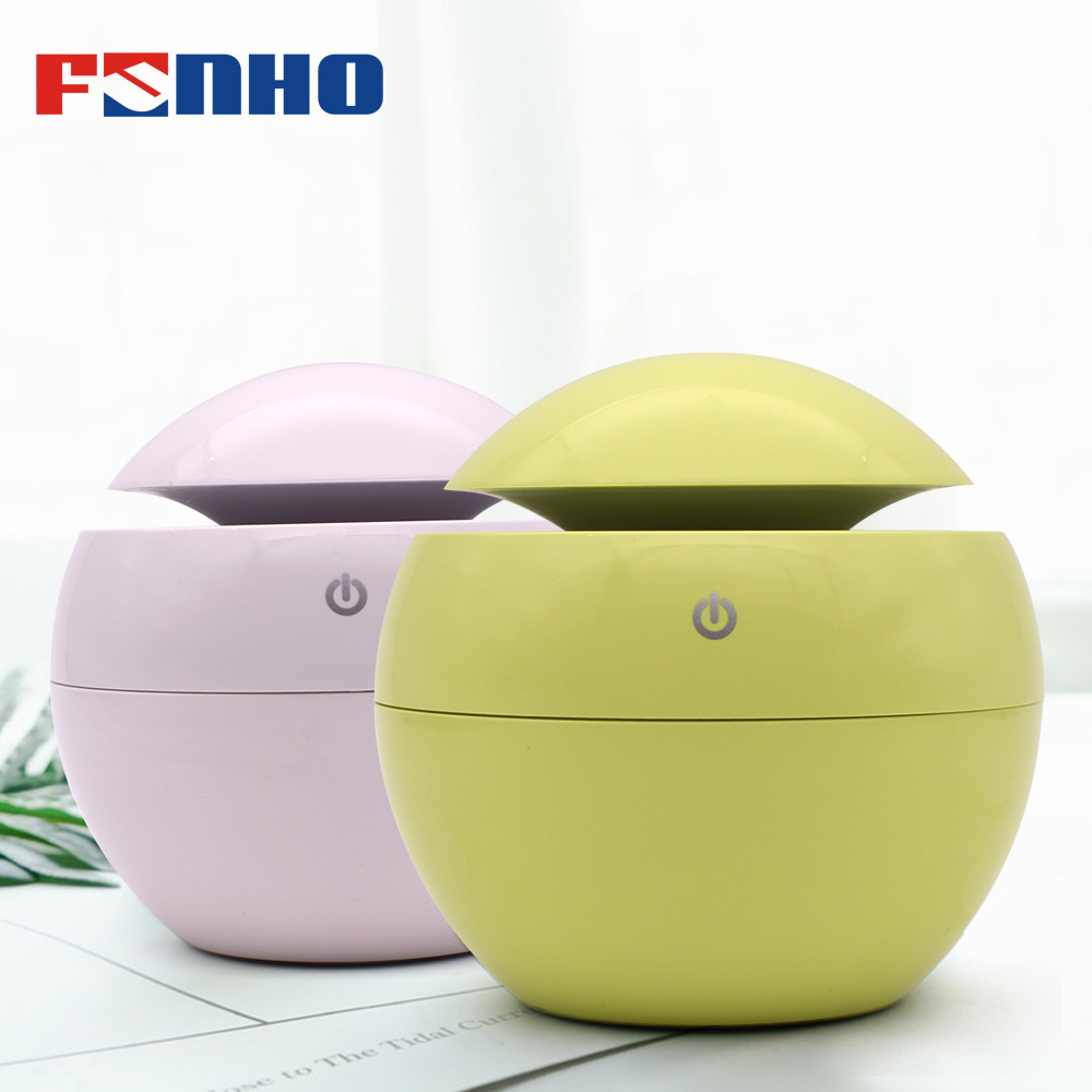 FUNHO Air Humidifier Mini Aroma Diffuser Essential Oil Umidificador 7 Color Changing LED Night Lamp for Home Office Car 003 funho aroma diffuser mini air humidifier oil humificador aromaterapia para casa 5 color selectable for home office car 078