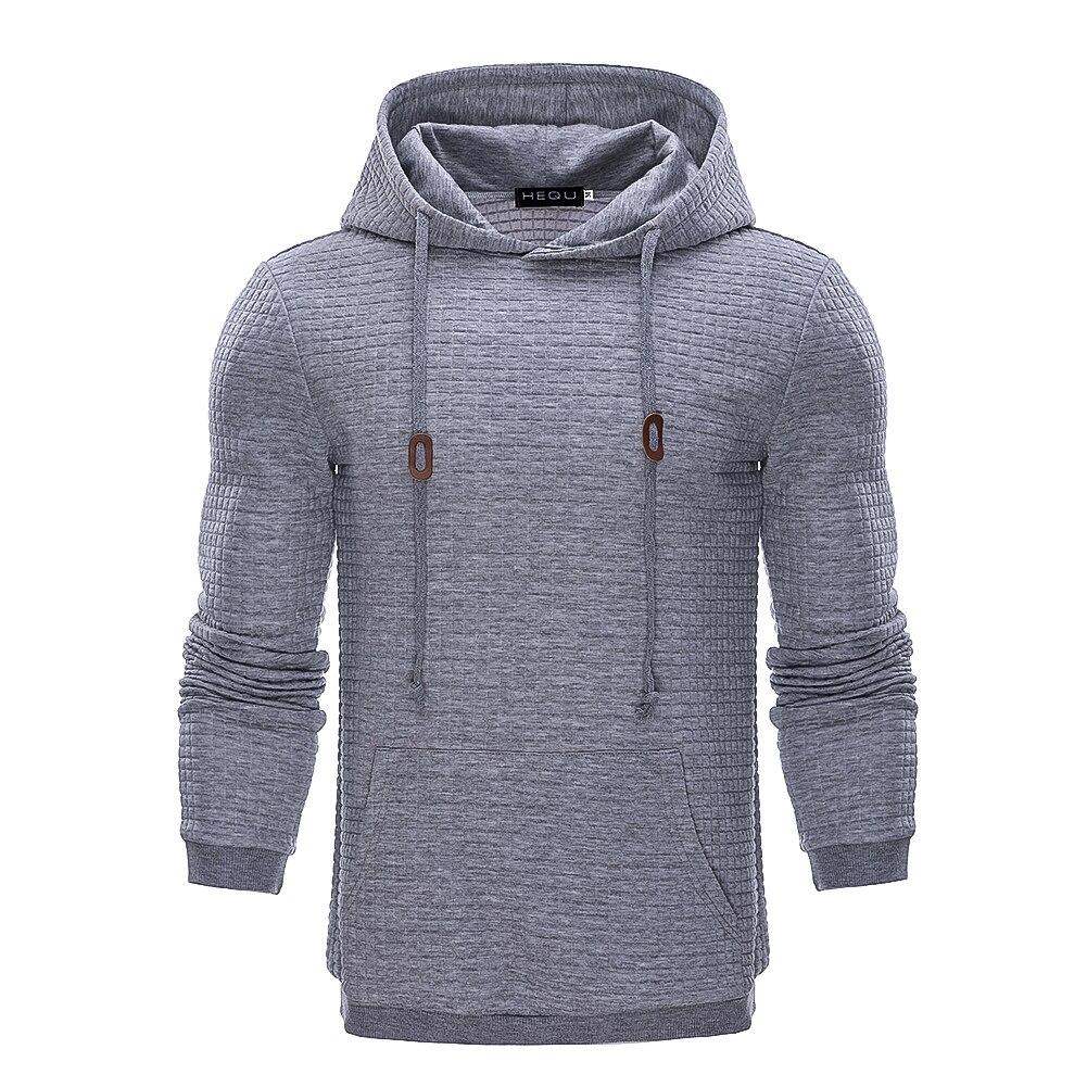 Men Hoodies Brand Male Long Sleeve Solid Color Hooded Sweatshirt Mens Hoodie Tracksuit Sweat Coat Casual Streetwear