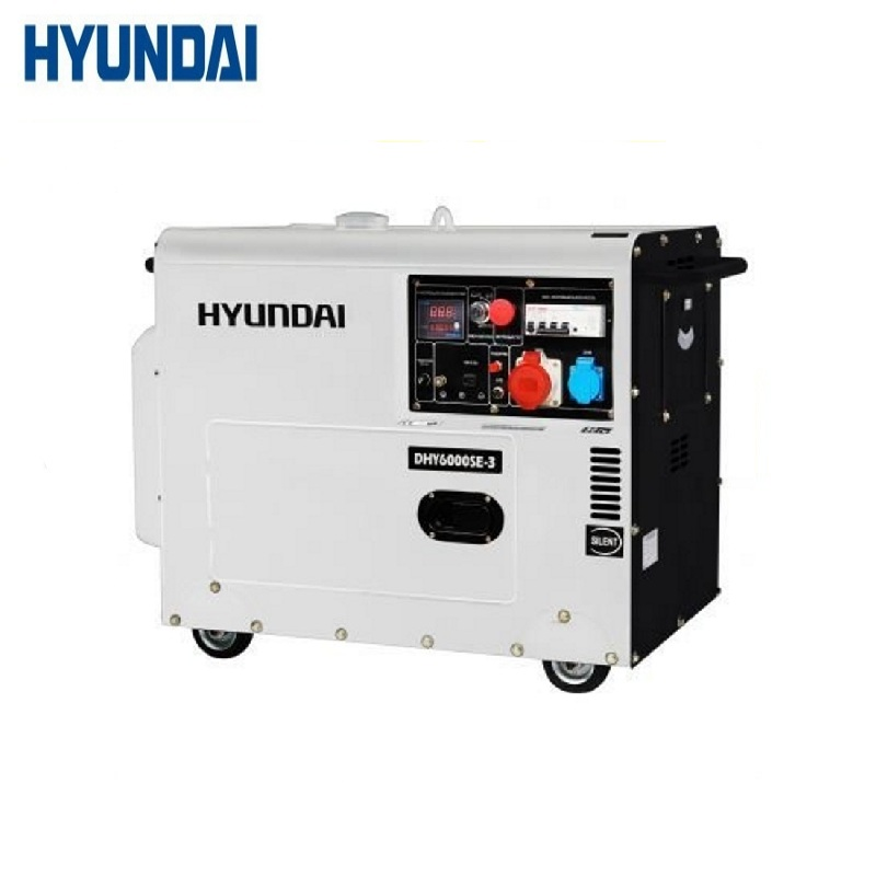 Diesel generator Hyundai DHY6000SE-3 Power home appliances Backup source during power outages Diesel power stations genset generator diesel engine parts 12v 24v actuator 3044190