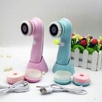 高品質防水深いクリーン電気洗顔料フェイススキンケアクリーニング洗顔ブラシスパマッサー