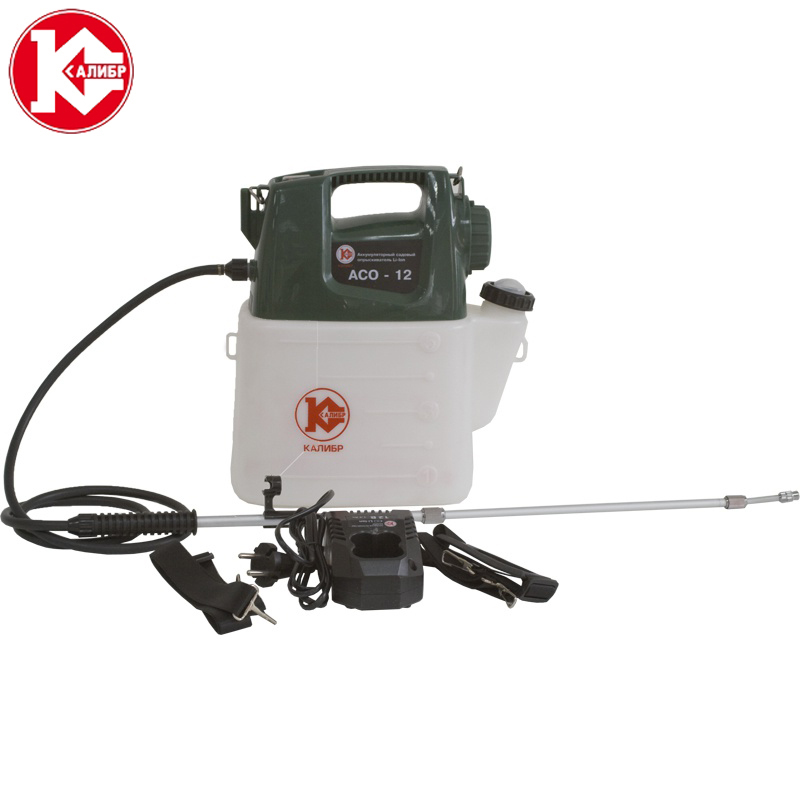 Kalibr ASO-12 Garden Sprayer Air Pressure Type with Shoulder Strap for Agricultural Gardening Tool Use Garden Pressure Sprayer 0 1kpa micro differential pressure gauge te2000 high precision 1 8 npt air pressure meter barometer best sale