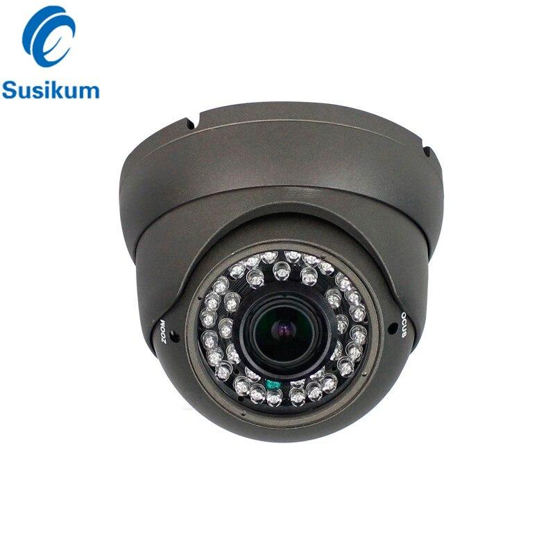 2MP 4MP купольная камера для помещений 2,8-12 мм варифокальный объектив Ручной зум 36 шт. инфракрасная светодиодная камера ночного видения AHD дома...