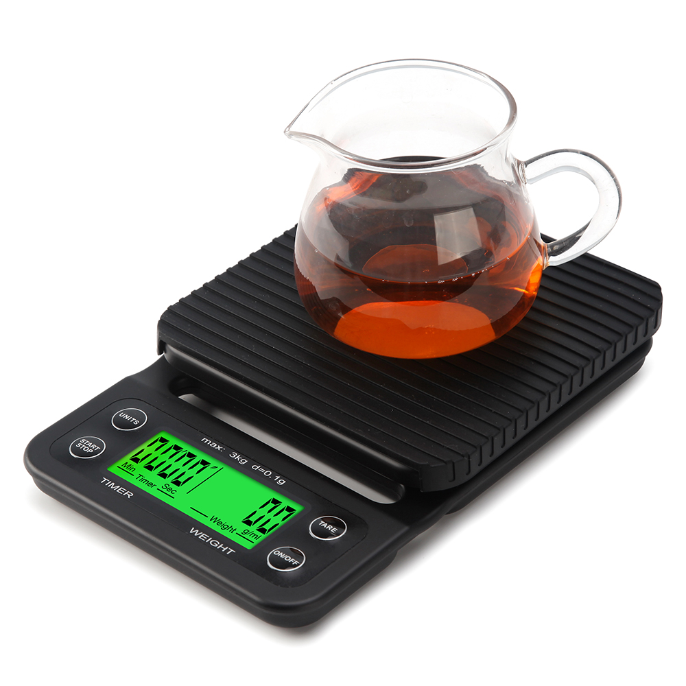 Electronic Kitchen Set: Digital Coffee Scale Electronic Kitchen Scale-in Bakeware