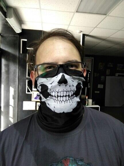 1Piece Motorcycle SKULL Ghost Face Windproof Mask Outdoor Sports Warm Ski Caps Bicyle Bike Balaclavas Scarf