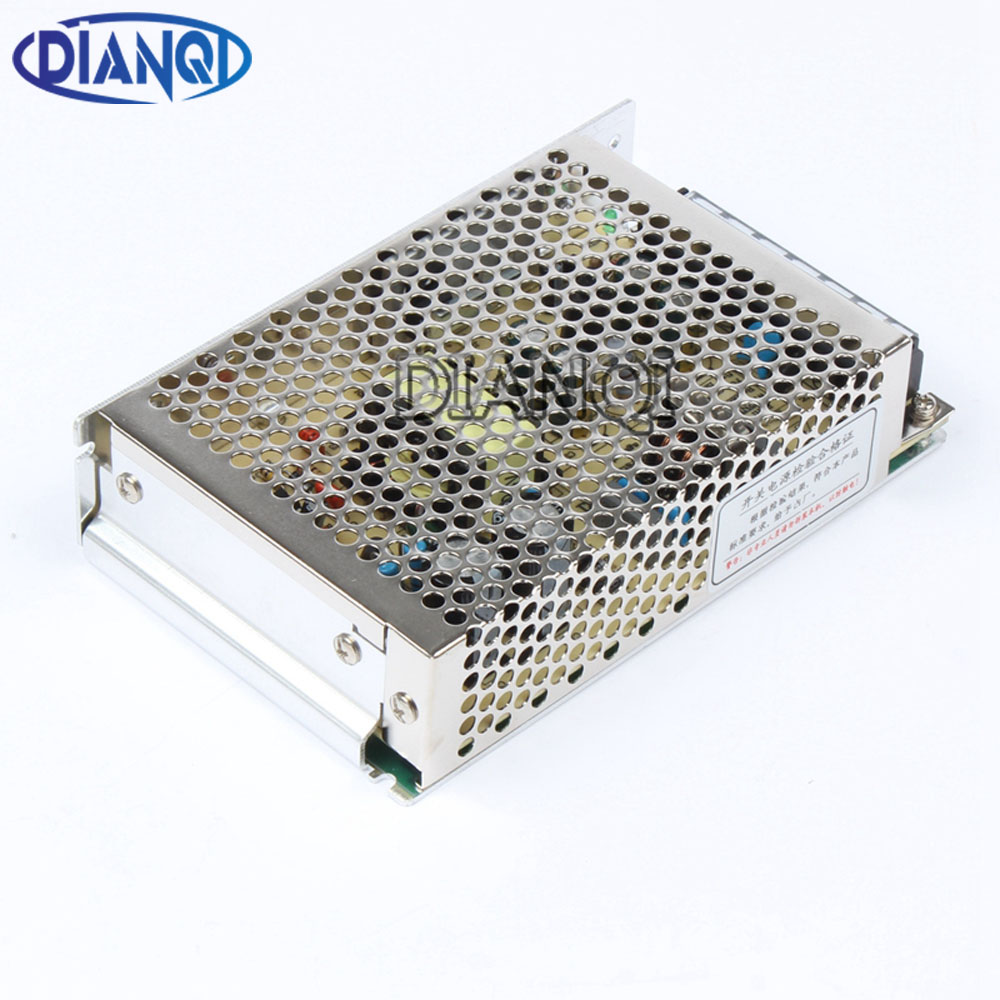 DIANQI power supply 120W 24v 5a mini size ac dc converter power supply unit ms-120-24 24v variable dc voltage regulator image