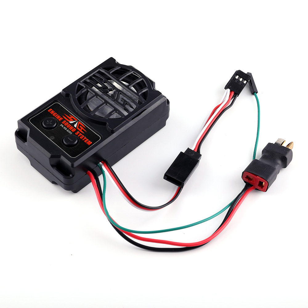Audio Simulation Sound Rc Car Ess Engine Set Sg Sz02 Electrical Wiring Simulator 2 In 1 System With Loudspeaker For Traxxas Trx4