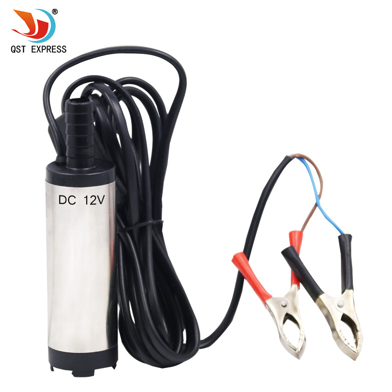 12V DC Diesel Fuel Water Oil Car Camping Fishing Submersible Transfer Pump Power tool accessories 12v high lift electric diesel oil pump fuel oil transfer oil metering pump unit with digital watches