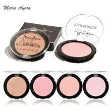 MARIA AYORA Makeup 2017 New Highlighters Face Cosmetics Brighten Minerals Shimmer Powder Highlighter Glow Contour Makeup Kit