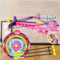 Newly Archery Bow Toys Guns Outdoor Sports With Infrared Parent child Games Soft Suction Cup Arrow Kids Toy Birthday Gifts