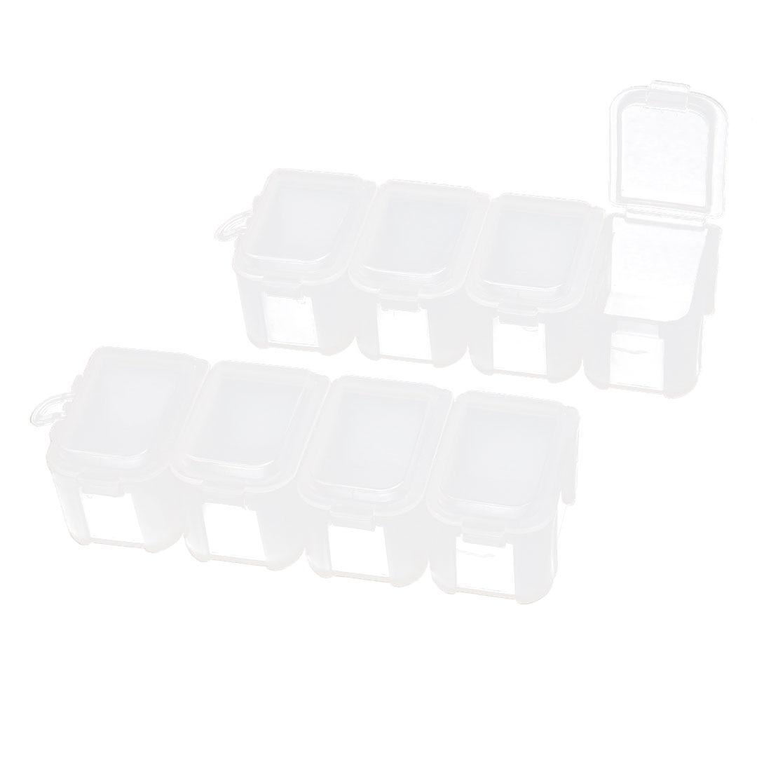 Uxcell Medicine Pill Box Holder Storage Organizer Cases
