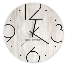 Nordic Large Wall Clock Modern Design 3d Kids Silent Living Room Clocks Home Decor Kitchen Watch  Klok Farmhouse 5586