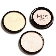 Solid Color High-Lighter Powder Brighten Face Palette Cosmetics Makeup Kit