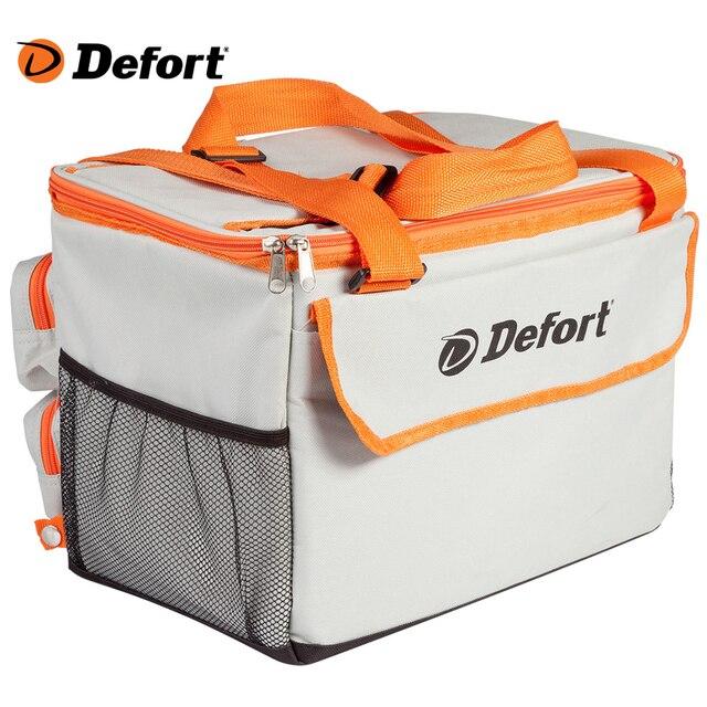 Холодильник автомобильный Defort DCF-12 (сумка-холодильник, объем 24 л., понижение температуры до 13'С, работает от прикуривателя 12 В)