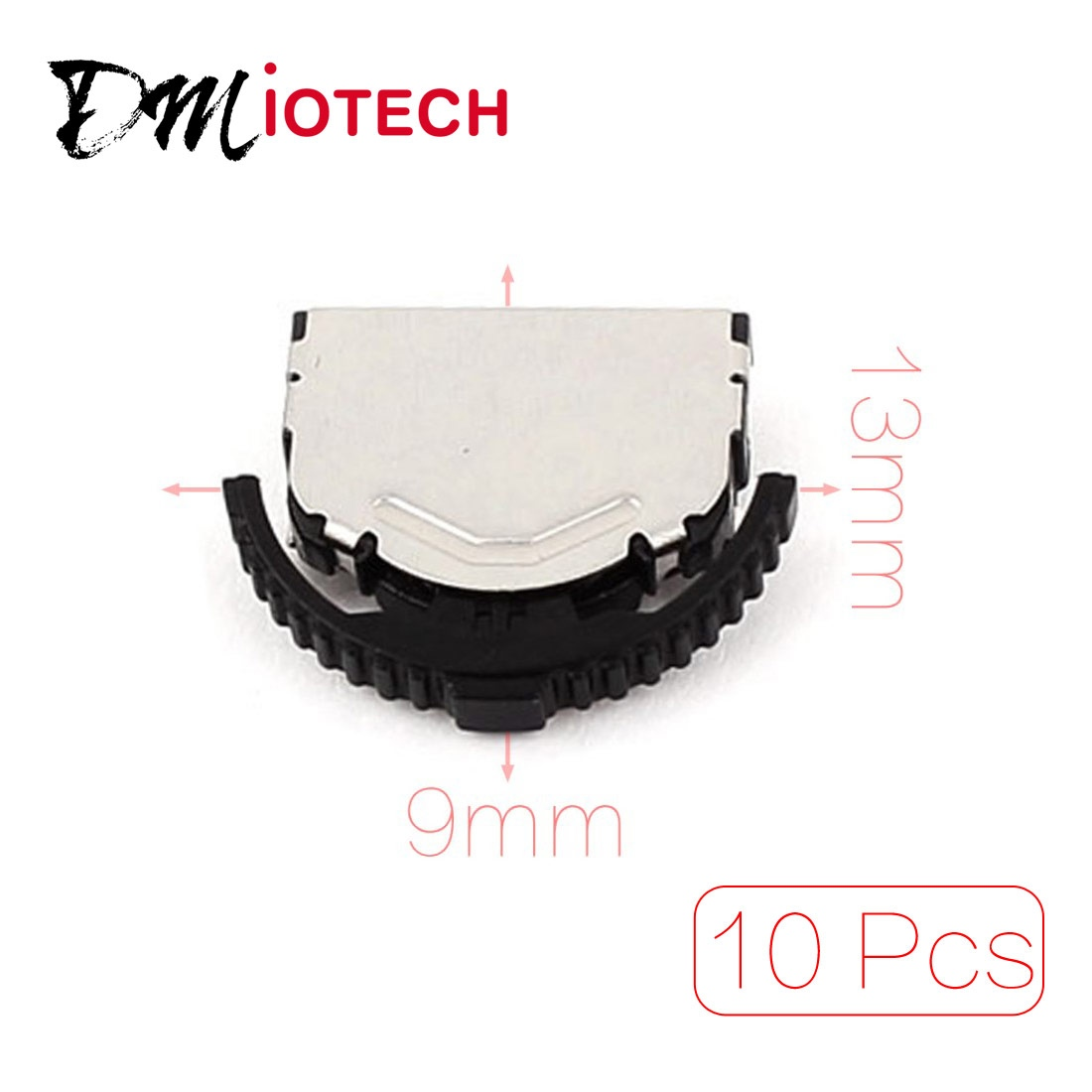 UXCELL 10 Pcs 3 Pin 5 Way Momentary Push Button Smd Smt Mini Tactile Switch momentary