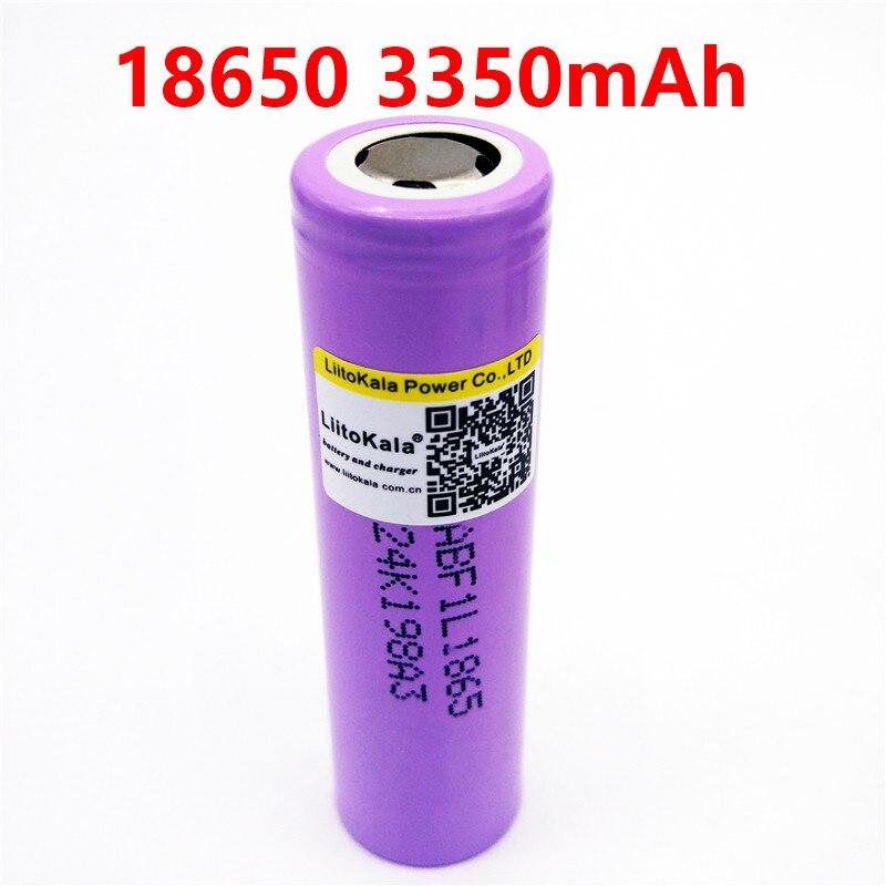 1-10 шт. liitokala lii - F1L оригинальный 3,6 В 18650 INR18650 F1L 3350 мАч 4,2 в отключить перезаряжаемый аккумулятор для