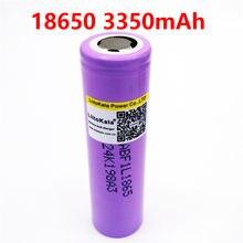Liitokala lii-f1l original 3.6 v, 1-10 peças 18650 inr18650 f1l 3350mah 4.2 v cortado fora bateria recarregável para