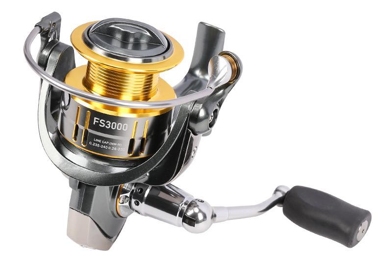 Tsurinoya FS3000 Spinning Fishing Reel 9 1BB 5 2 1 Metal Spools Max Drag 7kg Free