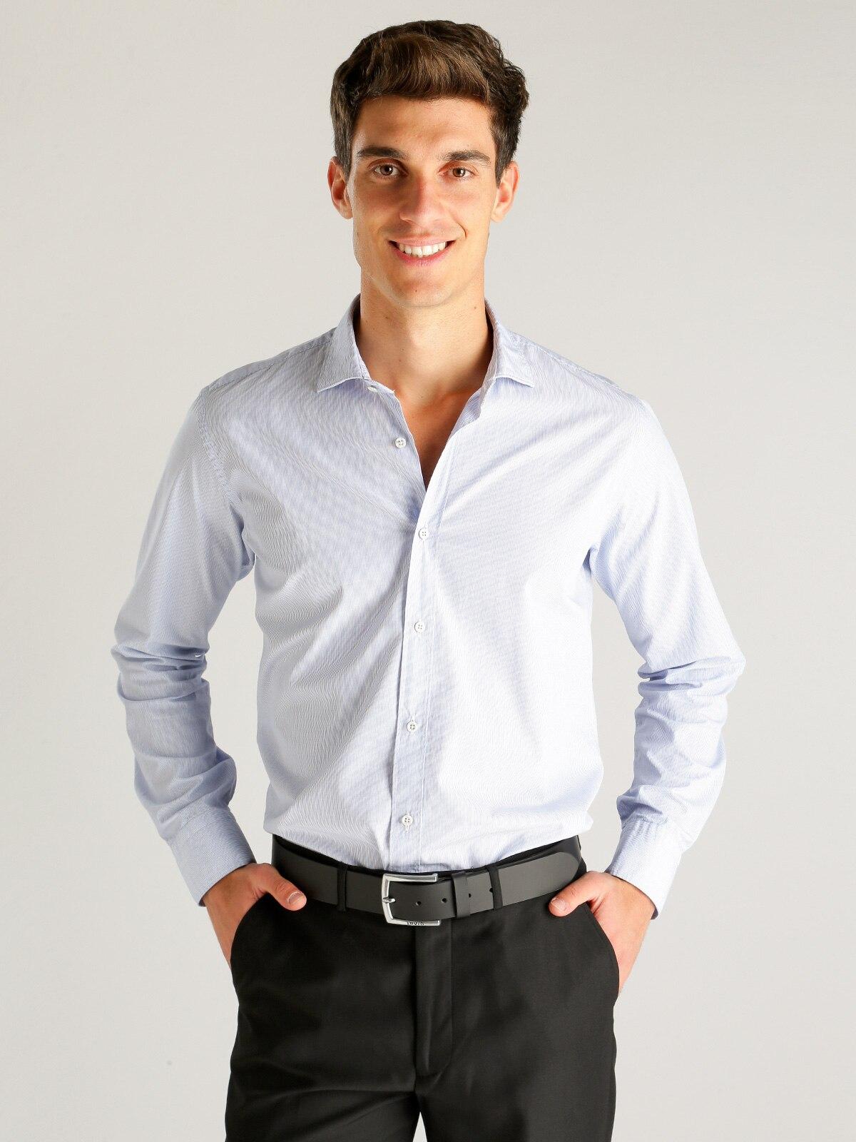 Striped Shirt Cotton-regular Fit