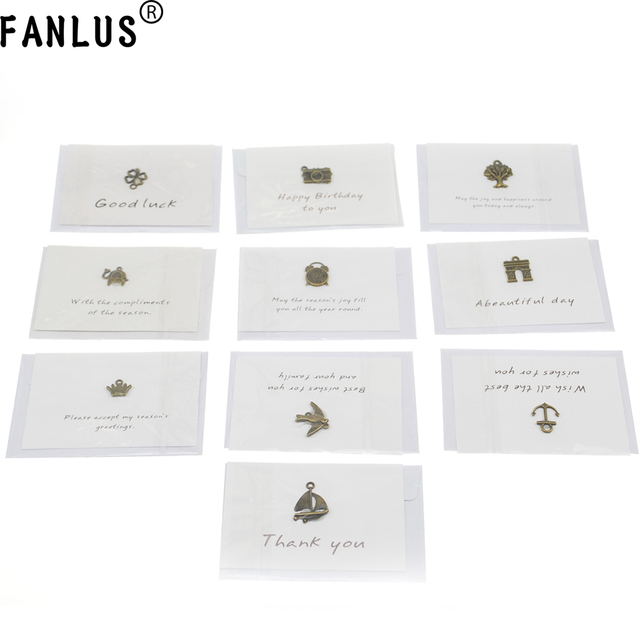 Fanlus Greeting Card Envelopes Cute Retro Lovely Vintage Special