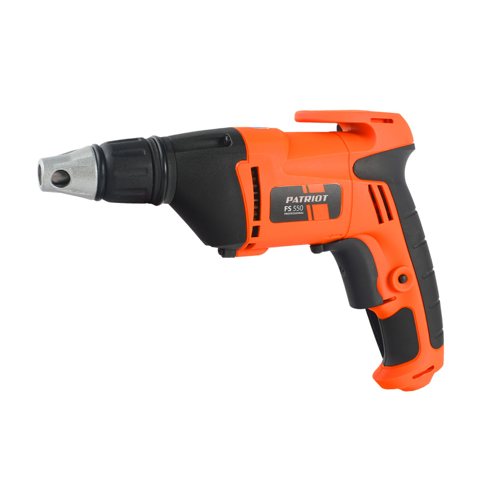 Electric drill screwdriver PATRIOT FS 550 (550 W power cartridge bit limiter depth twist) недорого