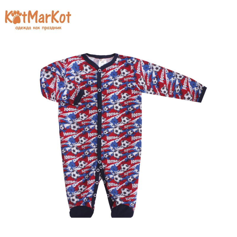 Jumpsuit Kotmarkot 6259 children clothing cotton for baby boys kid clothes hzirip baby romper new autumn winter warm lovely cartoon cotton thick baby girls boys jumpsuit fashion newborn clothes 5colors