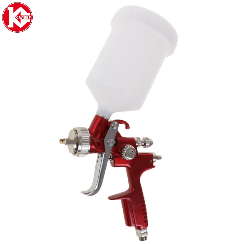 цена Pneumatic air spray gun Kalibr PROFI KRP-1,3/0,5VB, air volume 275 l/min